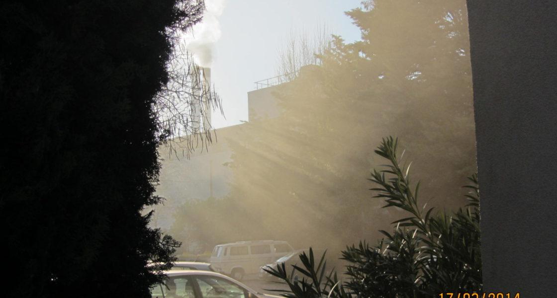 POLLUTION | Situation géographique des établissement recevant des enfants, étudiants ou EPAD par rapport à la Chaufferie bois d'Encagnane