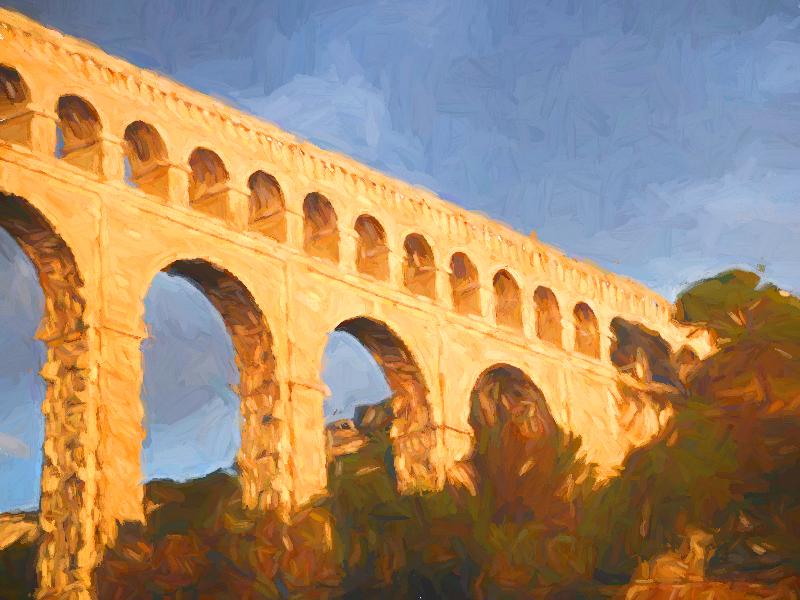 CULTUREL | AIX | L'aqueduc de Roquefavour est-il Romain ?